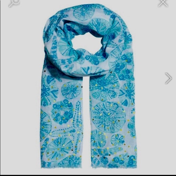 d76aa4fb881d00 Lilly Pulitzer for Target Accessories - Lilly Pulitzer for Target Scarf Sea  Urchin print
